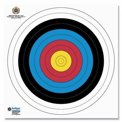 Zielscheibenauflage 40x40cm (3er Set)