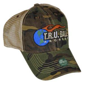 T.R.U. Ball Cap - Woodland Camo